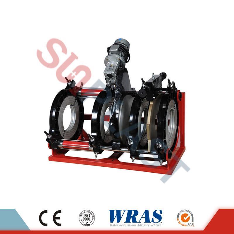 Máquina hidráulica de soldadura por fusión a tope de 280-450 mm para tubos de HDPE