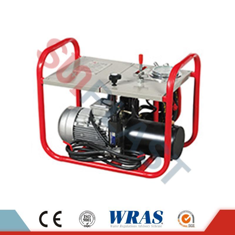 Máquina de soldadura por fusión a tope hidráulica de 63-160 mm para tubos de HDPE