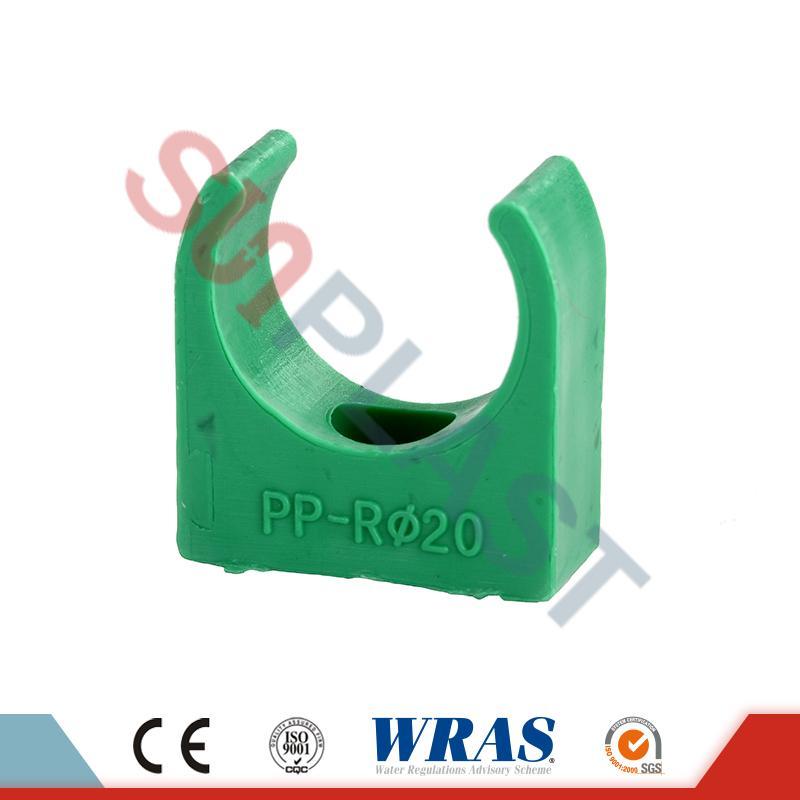 Clip de tubería PPR gris