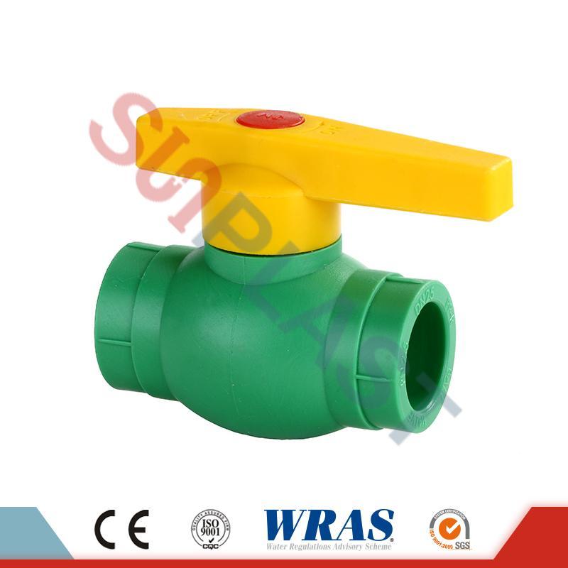 PPR Ball Valve For Water Plumbing