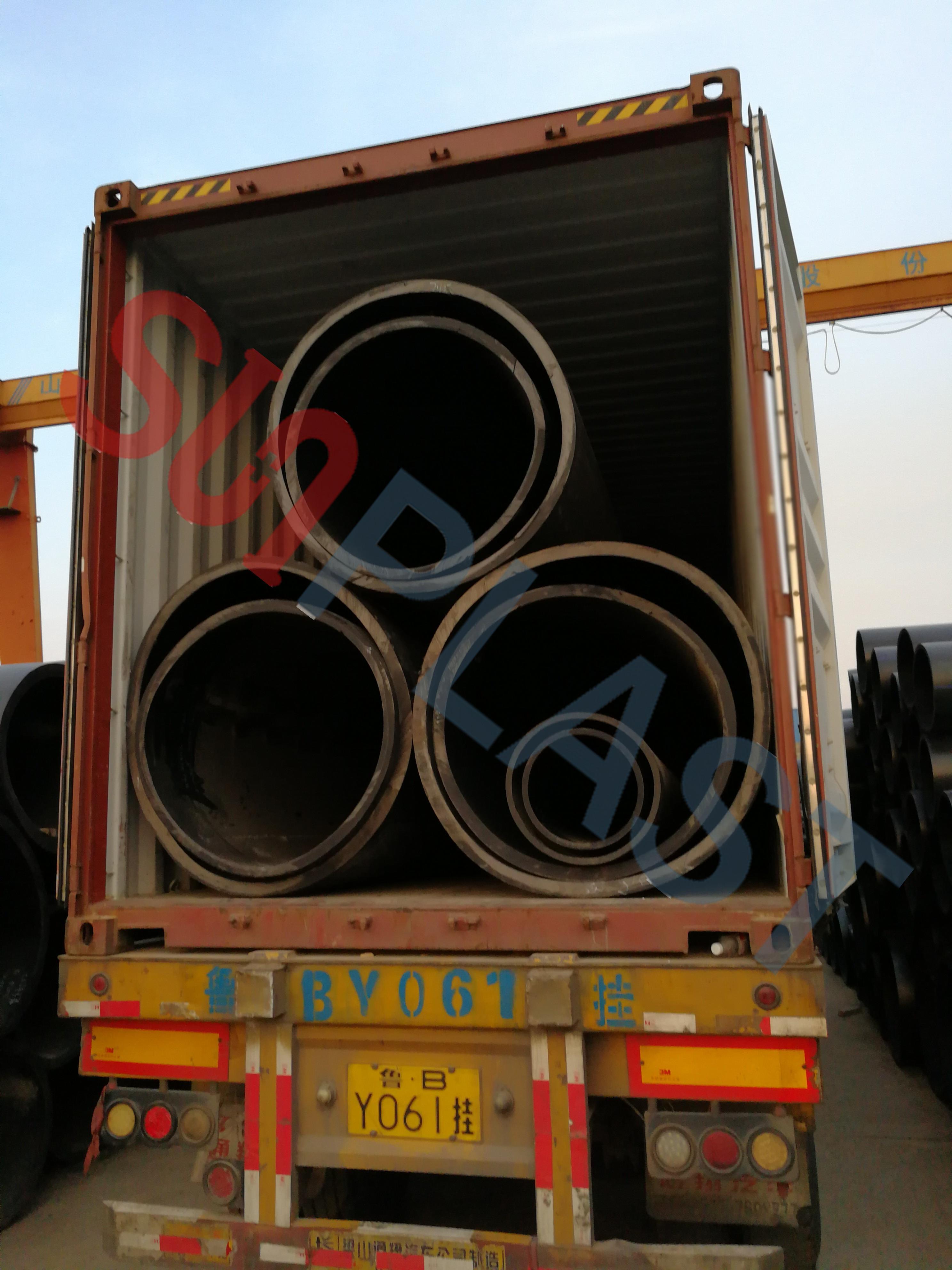 Tubería HDPE SUNPLAST DN1000 / DN1200mm para Australia